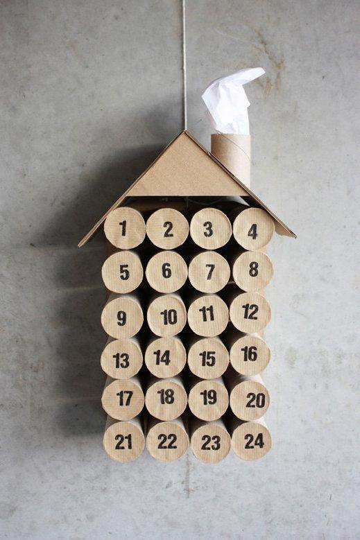 DIY ádventi naptár pozitív megerősítő mondatokkal!